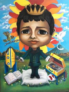 José José El Principe, 2018 Óleo sobre tela 80x60cm #JoseJose