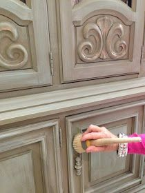 This post is all about how to paint your kitchen cabinets   with Chalk Paint® decorative paint by Annie Sloan.    How would I know?...