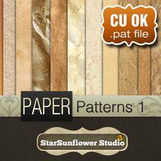 Free Photoshop Patterns: Free Photoshop Grunge Paper Patterns - StarSunflower Studio