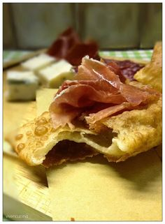 Torta fritta di Parma senza lievito (il mio street food)