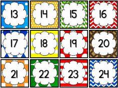 ...Το Νηπιαγωγείο μ' αρέσει πιο πολύ.: Κάρτες για ημερολόγιο Preschool Themes, Preschool Classroom, Classroom Decor, Classroom Organization, Classroom Management, Free Monkey, Calendar Numbers, Educational Crafts, Too Cool For School