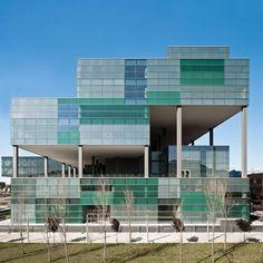 D38 Zona Franca Office | Barcelona, Spain | Arata Isozaki