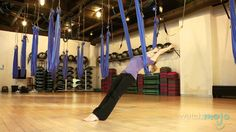 AntiGravity Yoga Technique and Impressive Poses
