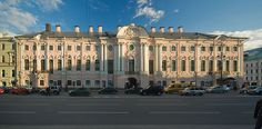The Stroganov Palace in St. Petersburg, Russia was built in 1753-1754 under the order of Alexander Stroganov,the closest friend of Catherine II and father of Pavel Stroganov,who later became a godson of Pavel I and friend of Alexander I of Russia.During 1745-1918 the palace belong to The Stroganovs who were tied with The Vasilchikovs,the family of one of wives of Ivan IV The Terrible and one of favorites of Catherine II.The seeds of the family still live in Europe