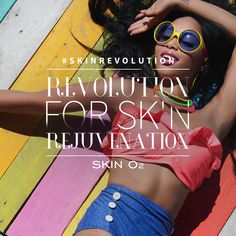Rejuvenate your skin with the help of Skin O2.  #SkinRevolution