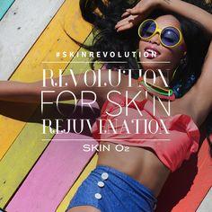 Rejuvenate your skin with the help of Skin O2.  #SkinRevolution