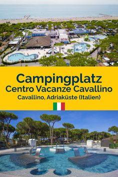 Der Camping Cavallino ist ein moderner, gepflegter Camping mit freundlicher Atmosphäre. Er liegt direkt an der beliebten italienischen Adria in einem großen Kiefernwald. Von hier aus könnt ihr direkt zum Strand gehen, aber nicht, ohne vorher ein erfrischendes Bad im nagelneuen Poolparadies genommen zu haben! #camping #campingplatz #adria #premiumcamping #campingurlaub #glamping #urlaubinitalien #campingliebe Glamping, Travel Destinations, Cool Designs, Road Trip, Strand, Bad, Tricks, Outdoor Decor, Europe