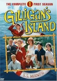 Gilligan's Island - for a three hour cruise they had a LOT of luggage, funny though! #GilligansIsland #tv