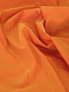 Orange Curtain polyester Fabric 122 inches wide, superior quality for home decoration and crafts by the yard on Etsy, $28.00
