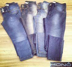"""Um belo JEANS cabe em qualquer estação, seja inverno, primavera, outono ou verão! MONÔ JEANS é a marca para qualquer ocasião.   """" Seja único, seja MONÔ JEANS.""""   #JeansWear #Feminino #Denim #Collection  #Novidade"""