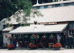 Parker's Maple Barn - Mason, NH (restaurant and sugar house - you can watch them make maple syrup in March & April)