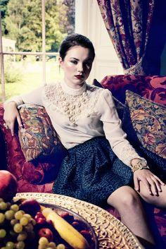 Baroque #fashion shoot. Stylist: Raquel Trejo Garrido