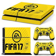 FIFA 17 SKIN PS4 FIFA Console COVER Decal Protective Skin Sticker controllers