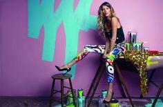 Gisele Bundchen Tags Up Vogue Brazils July 2012 Issue by Patrick Demarchelier #editorial #fashion #studio