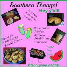 Southern Thangs-Southern expressions, jokes, poems, definitions. A list of all things Southern!
