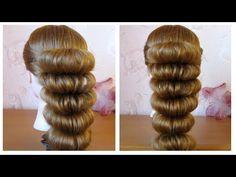 ⭐︎ Сoiffure soirée/mariage facile à faire soi même, cheveux long ⭐︎ simple et rapide - YouTube