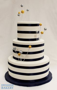 White Chocolate Shell Cascade Wedding Cake