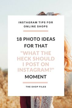 18 Instagram photo ideas for when you need some new post inspiration. Find Instagram post ideas from these top featured accounts!