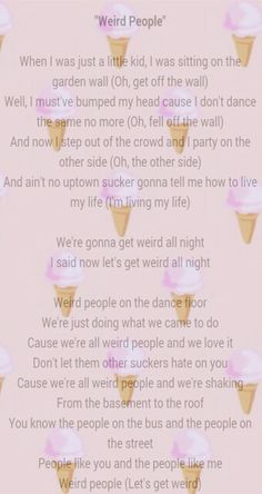 Little Mix Weird People Lyrics Made By
