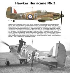 Hawker Hurricane Mk.I Navy Aircraft, Ww2 Aircraft, Fighter Aircraft, Military Aircraft, Fighter Jets, Hawker Hurricane, Ww2 Planes, Battle Of Britain, Royal Air Force