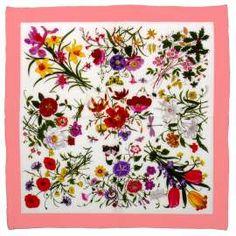 Gucci Flora scarf, 1966