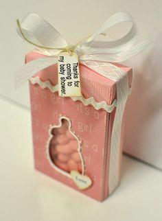baby favor tic tac box