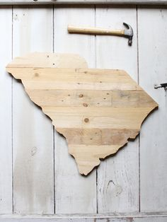 SC Timber made from reclaimed pallet wood // yeahTHATgreenville