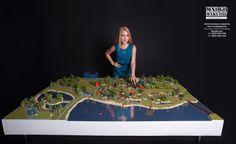 Изготовление макетов Москва / Moscow architectural model making