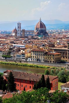 Florence, Tuscany, Italy. I've already been here, but I can't wait to go back!!
