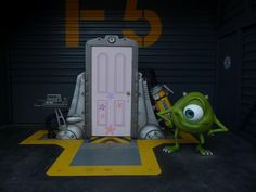 Monsters, Inc. - Boo's Door