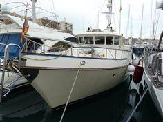 Mañana is a 46 foot brokerage trawler yacht!