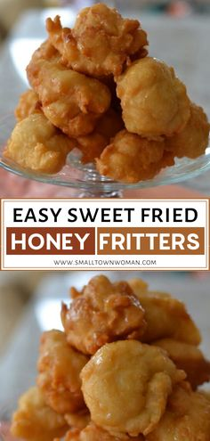 These Easy Sweet Fried Honey Fritters are especially popular at Christmas and are called Guatemala Bunuelos (Fritters in Honey). The dough is just a handful of ingredients most of which you probably have on hand. Honey Dessert, Easy Christmas Treats, Christmas Morning Breakfast, Recipes With Few Ingredients, Play Food, Dessert Recipes, Desserts, Golden Brown, Fritters