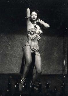 George Zimbel  Woman at the Bar, Bourbon Street, New Orleans, LA, 1955 printed 1983 - gelatin silver print