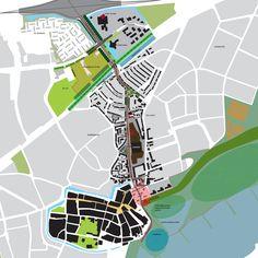 Ruimtelijke visie en verkeerskundig toetsingskader voor de noordelijke… Map, Location Map, Maps