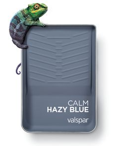 One of 12 Valspar 2019 Colors of the Year: Calm Hazy Blue Available as: Seattle Haze 4003-4B at Lowe's Twinkle, Twinkle VR087B at Ace Twinkle, Twinkle V111-5 at independent retailers