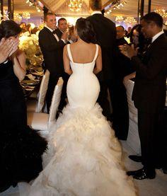 Vera Wang Wedding Dresses | Kim Kardashian wore three Vera Wang wedding gowns on her wedding day