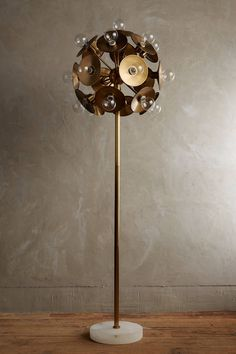 Metallic Blom Floor Lamp