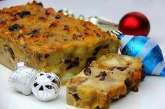 Caribbean Christmas Bread Pudding.