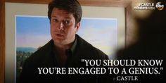 a cute little scene that reminded me of the early Castle episodes, before they were truly Caskett