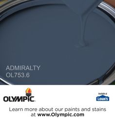 ADMIRALTY OL753.6 is a part of the blues collection by Olympic® Paint.