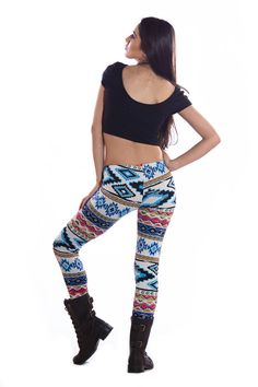 Aztec Print Leggings, we heart leggings