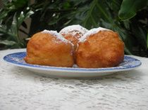 Old-Fashioned Oliebollen This is recipe I used last year and loved it. Dont be afraid to add some extra milk for moisture.