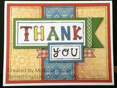 The CTMH Circus Alphabet stamp set is fantastic for colorful, personalized cards, scrapbook titles, and paper crafting. Click here for the stamp set only available in July, 2014. http://michelle.ctmh.com/Retail/Product.aspx?ItemID=7861  #SomethingAboutSharing #thankyoucards #CTMHJubilee