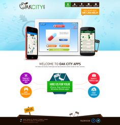 #OakCityApps  #WebsiteDesigns