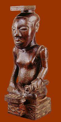 kuba art - bakuba art - congo art - bushongo art - traditional african art - african art sculpture