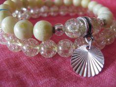 Jade, crystal, silver 925