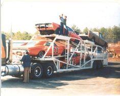 Dukes of Hazzard vehicles General Lee Car, Denver Pyle, Bo Duke, James Best, Junkyard Cars, Dukes Of Hazard, Dodge Charger Rt, Catherine Bach, Best Boss