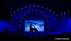 Great shadow show for a corporate event in Munich, Germany | Entertainment agency | Corporate entertainment