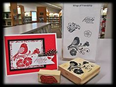 Wings of Friendship Stamp Set