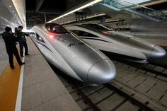 China to sell bullet train technology.